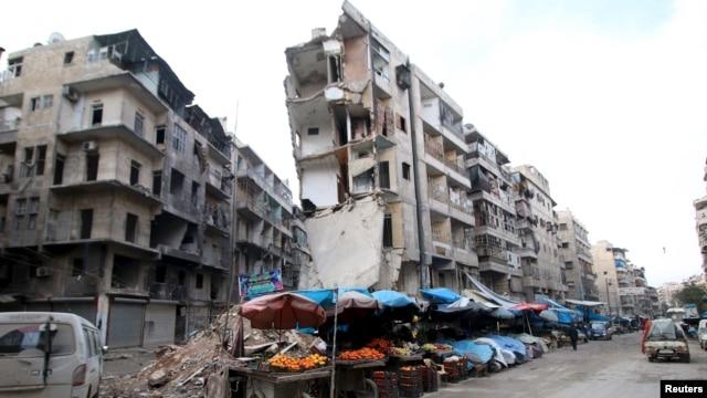 Околиця Алеппо, Сирія, 10 лютого 2016 року