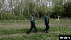 Լատվիացի սահմանապահները Ռուսաստանի հետ սահմանին, արխիվ