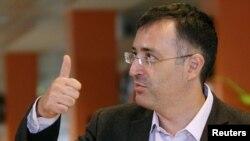 Сергей Гуриев в бытность ректором Российской экономической школы. Москва, 24 сентября 2012 года.