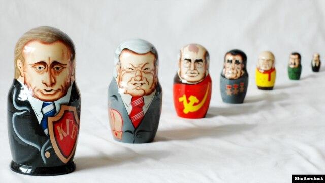 Эволюция правителей России