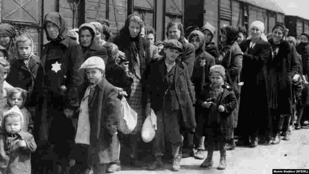 Фрагмент экспозиции государственного музея Аушвиц-Биркенау (Освенцим)