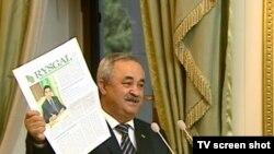 Türkmenistanyň senagatçylar we telekeçiler birleşmesiniň başlygy A.Dadaýew