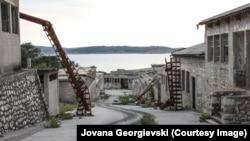 Pamje nga burgu i Goli Otok-ut.