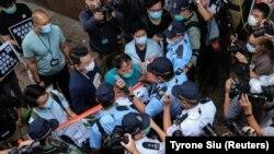 Protest împotriva legii securității în Hong Kong