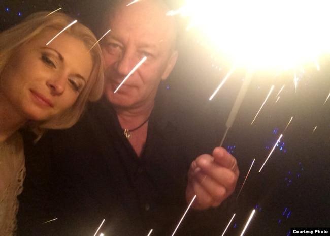 Сергей Соколов и Дарья Мастикашева в 2015 году. Фотография из архива Сергея Соколова