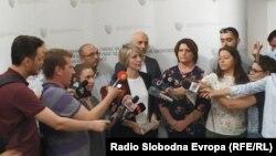 Прес-конференција на обвинителката Ленче Ристоска од СЈО