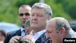 Президент Украины Петр Порошенко и президент Грузии