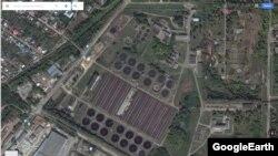 """Очистные сооружения """"Водоканала"""" на данный момент"""