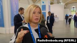 Ірина Геращенко, перший віце-спікер Верховної ради