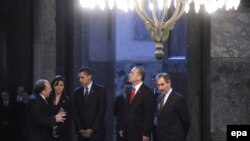Recep Tayyip Erdoğan və Barack Obama Ayasofya muzeyində