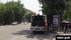 Проспект Баграмяна, Ереван, 6 июня 2015 г.