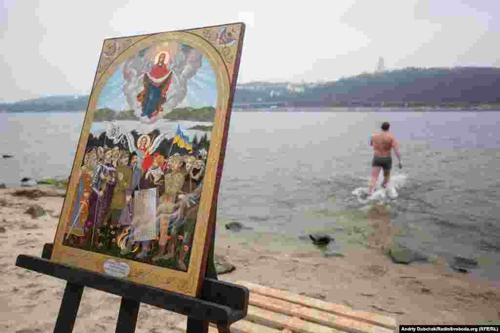Освячення дніпровських вод для українських військовослужбовців відбулося уперше в столиці