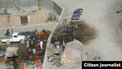 قاچاق سوخت در روستای باتک، شهرستان سرباز در استان سیستان و بلوچستان