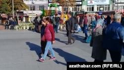 Stambuldaky türkmen migrantlary, noýabr, 2017.