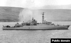 Britaniya donanması. 1982