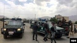 Автомашины полиции в Афганистане. Иллюстративное фото.