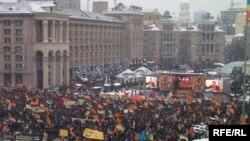 Майдан Незалежності, листопад 2004 р.