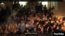 """Сириядағы қазақстандық """"жиһадшылар"""". YouTube видеосынан алынған скришот. 21 қазан 2013 жыл."""