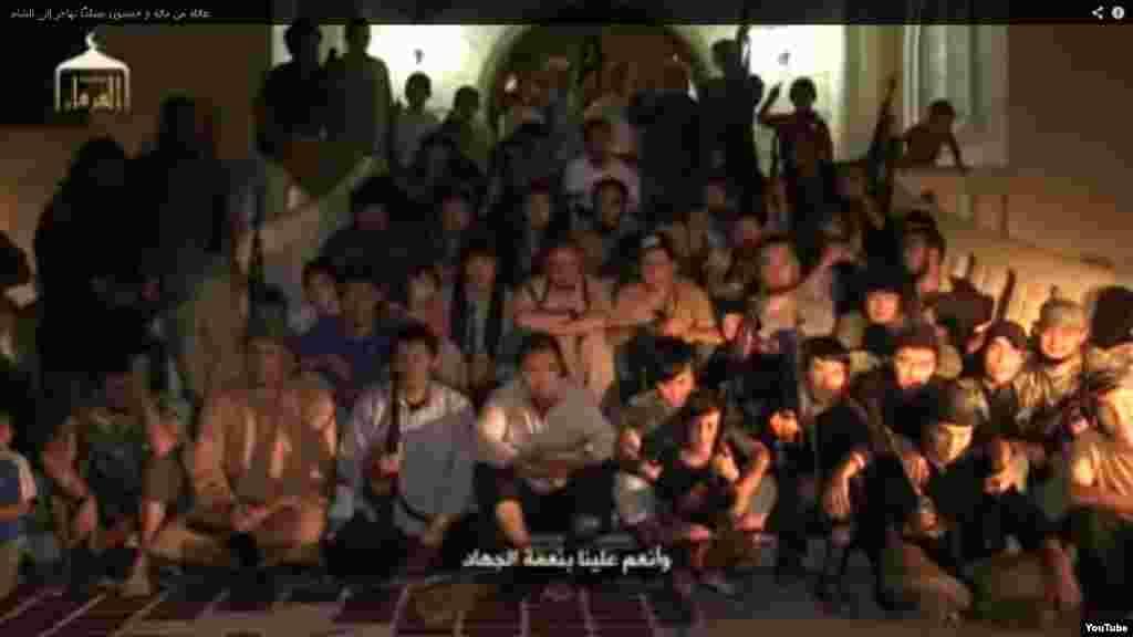 15 октября 2013 года на видеохостинге YouTube была размещена 20-минутная запись о «150 казахах, отправившихся на джихад в Сирию». В ней показаны десятки взрослых и детей, говорящих на казахском и русском языках, которые представляют себя людьми, «совершившими хиджру (переехавшими. - Ред.) в Сирию ради джихада». Эта запись стала одной из самых обсуждаемых среди казахстанских пользователей социальных сетей.