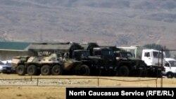 Një bazë ushtarake ruse në Dagestan