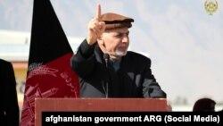 Архива: Авганистанскиот претседател Ашраф Гани.