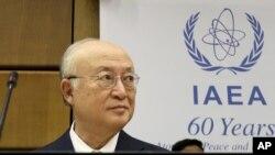 International Atomic Energy Agency chief Yukiya Amano (file photo)
