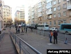Татарский переулок, утро 21 февраля