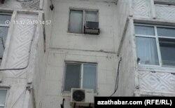Жилой дом в 11 микрорайоне, Ашхабад, 11 декабря, 2019