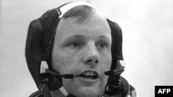 Нил Армстронг, командир корабля Apollo 11, 1969 год