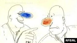 Карикатура Рашида Шерифа