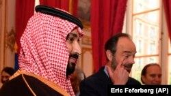 ولیعهد عربستان سعودی روز دوشنبه با اوارد فیلیپه، نخستوزیر فرانسه دیدار کرد