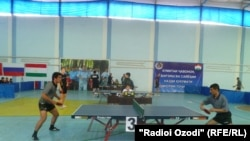 Tajikistan,Dushanbe city, tabletennis competition 18Oct 2012