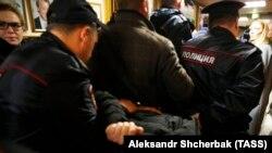 Задержание напавшего на журналистку Татьяну Фельгенгауэр