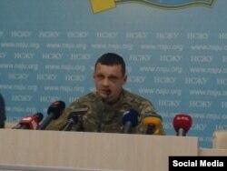 Станислав Краснов на пресс-конференции в Национальном союзе журналистов Украины