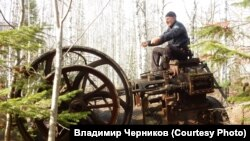 Владимир Черников и его находка