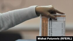 Glasanje na općim izborima u BiH, oktobar 2010. - ilustracija