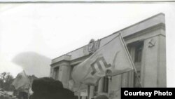 Qırımtatarlarnıñ Ukraina Yuqarı Radası yanında aktsiyası, Kiyev, 1992 senesi