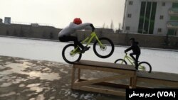 Раварысты практыкуюцца ў Кабуле, люты 2019-га