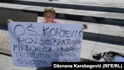Protest u Sarajevu, 24. septembar 2013. Fotografije uz tekst: Dženana Karabegović