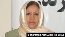 ثریا صبحرنگ کمیشنر کمیسیون مستقل حقوق بشر افغانستان