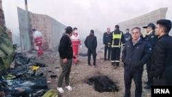 Украински патнички авион се урна кај Техеран