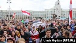 Беларусь - протесты после президентских выборов в Беларуси. Минск, 2020