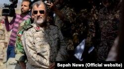Ирандын Революциялык сакчылар корпусунун генералы Мухаммад Пакпур. Сүрөт качан тартылганы белгисиз.