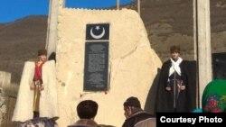 В Дагестане воздвигли памятник турецким воинам, павшим в 1918 году в боях за освобождение Анжикалы (Порт-Петровска)