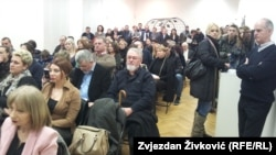 """Publika na promociji projekta """"Sarajevo susret kultura"""""""