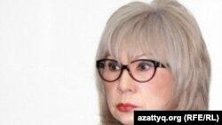 Guljan.org интернет-порталының бас редакторы Гүлжан Ерғалиева. Алматы, 9 қаңтар 2012 жыл.