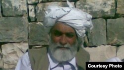 Prague: Barmala khan Barmol famous pashto poet from zhob Baluchistan.07MAY2012