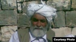 Prague: Barmala khan Barmol famous pashto poet from zhob Baluchistan.07MAY2012