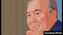 Шымкенттік «Жебе» студиясының «Сапа Олимпиадасы» анимациялық фильміндегі басты кейіпкер - Қазақстан президенті Нұрсұлтан Назарбаев.