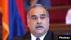 Armenia -- Raffi Hovannisian, leader of the opposition Zharangutyun party.